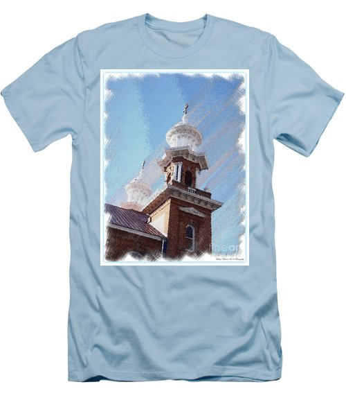 Historic Church Steeples Men's T-Shirt (Athletic Fit)