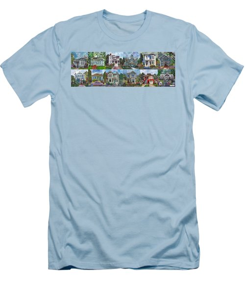 Historical Homes Men's T-Shirt (Athletic Fit)