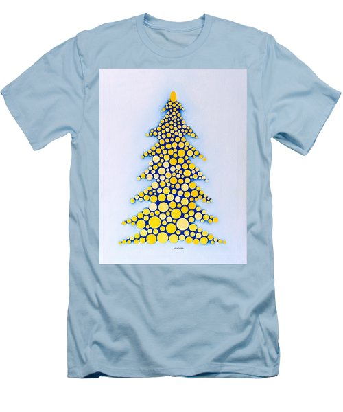 Holiday Tree #2 Men's T-Shirt (Athletic Fit)