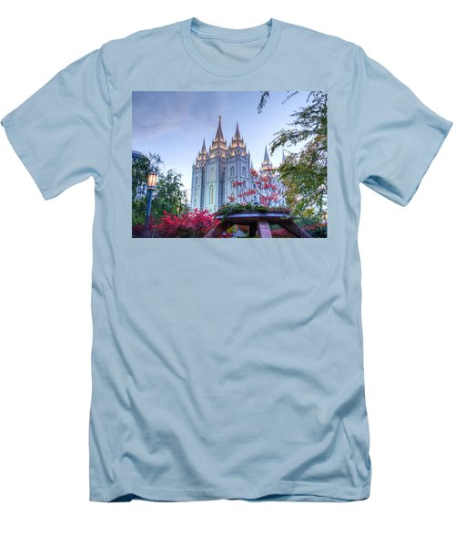 House Of The Lord Men's T-Shirt (Slim Fit) by Dustin  LeFevre