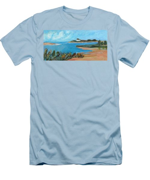 House On The Point Men's T-Shirt (Athletic Fit)