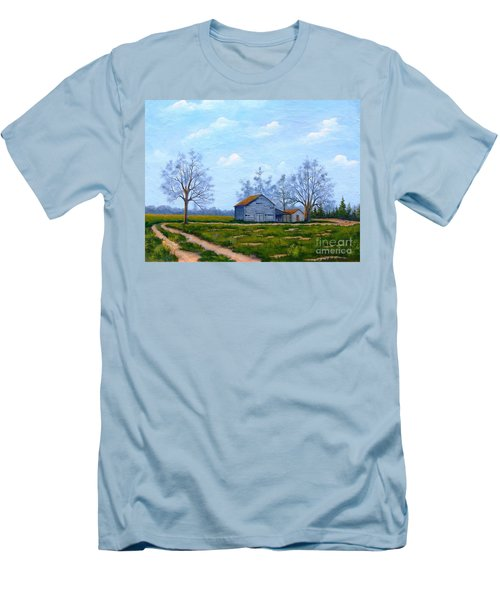 Hwy 302 Farm Men's T-Shirt (Athletic Fit)