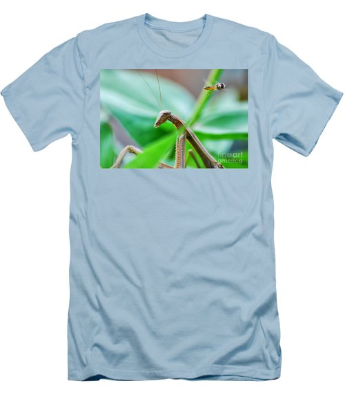 Men's T-Shirt (Slim Fit) featuring the photograph I See You by Thomas Woolworth
