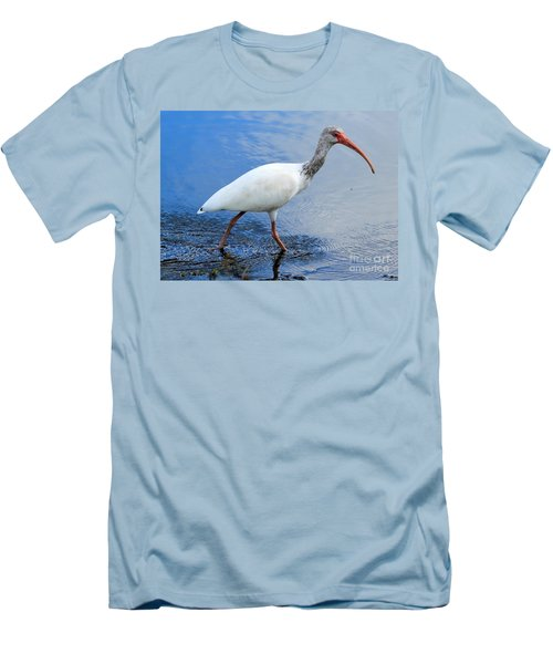 Ibis Visitor Men's T-Shirt (Slim Fit) by Carol Groenen