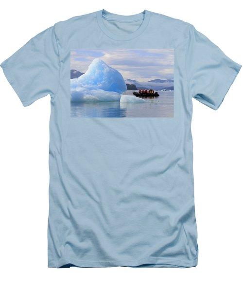 Iceberg Ahead Men's T-Shirt (Slim Fit) by Shoal Hollingsworth
