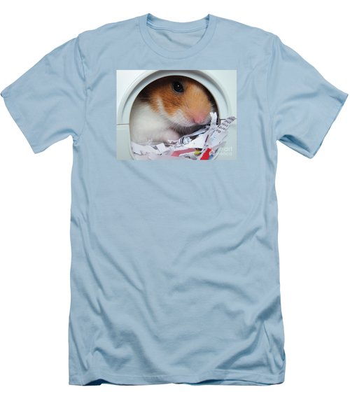 Men's T-Shirt (Slim Fit) featuring the photograph I'm Keeping My Eye On You by Vicki Spindler