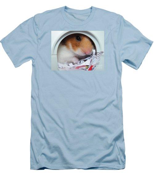 I'm Keeping My Eye On You Men's T-Shirt (Slim Fit) by Vicki Spindler