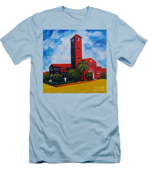Immaculate Conception Cathedral Men's T-Shirt (Athletic Fit)