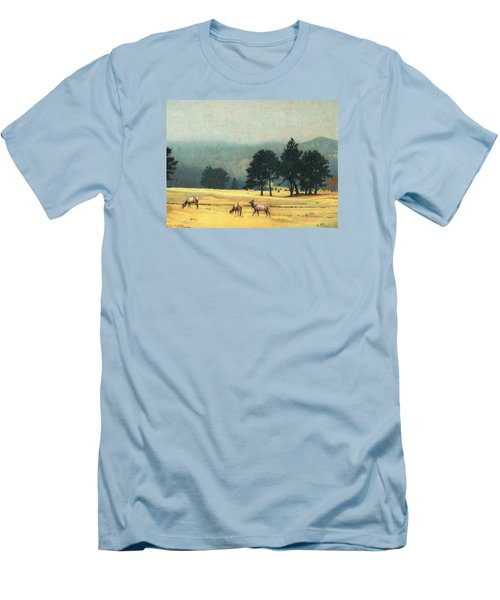 Impression Evergreen Colorado Men's T-Shirt (Slim Fit) by Dan Miller
