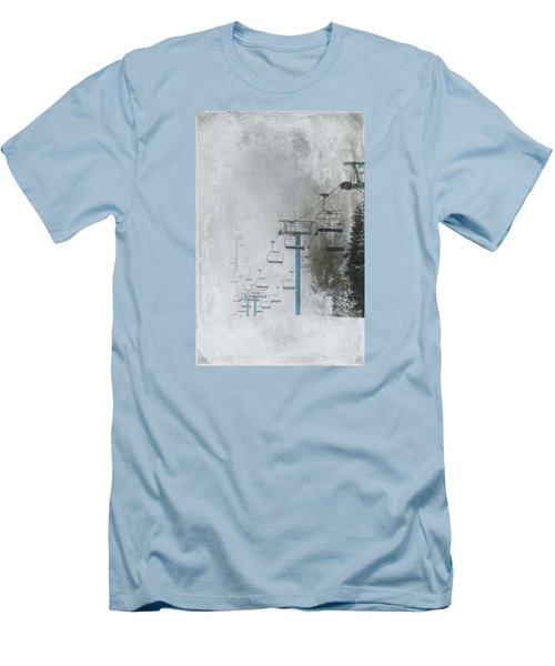 In Anticipation Men's T-Shirt (Slim Fit) by Marilyn Wilson
