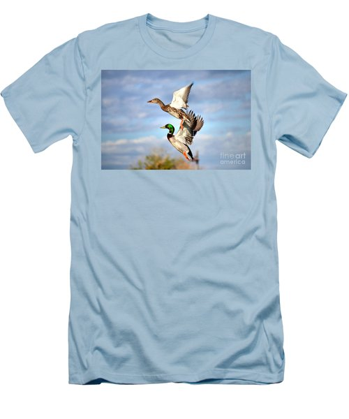 In-flight Men's T-Shirt (Athletic Fit)