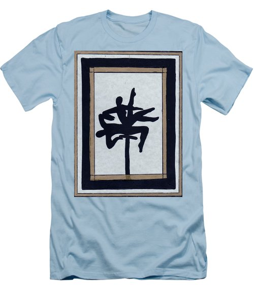 In Perfect Balance Men's T-Shirt (Slim Fit) by Barbara St Jean