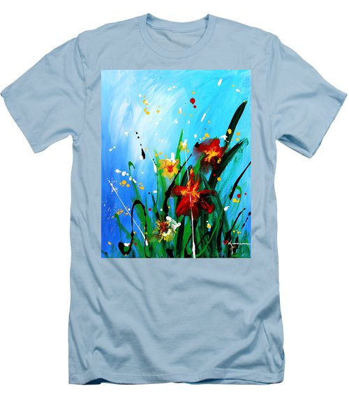 In The Garden Men's T-Shirt (Slim Fit) by Kume Bryant