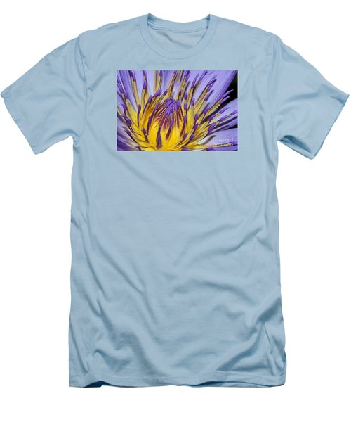 Men's T-Shirt (Slim Fit) featuring the photograph Inner Sanctum by Judy Whitton