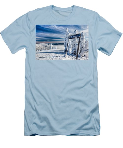 Inspiration Men's T-Shirt (Slim Fit) by Aaron Aldrich