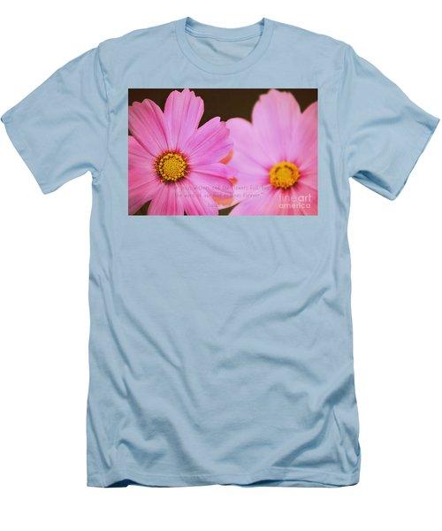Inspirational Flower 2 Men's T-Shirt (Athletic Fit)