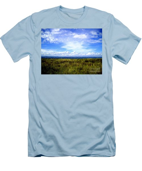 Men's T-Shirt (Slim Fit) featuring the photograph Irish Sky by Nina Ficur Feenan