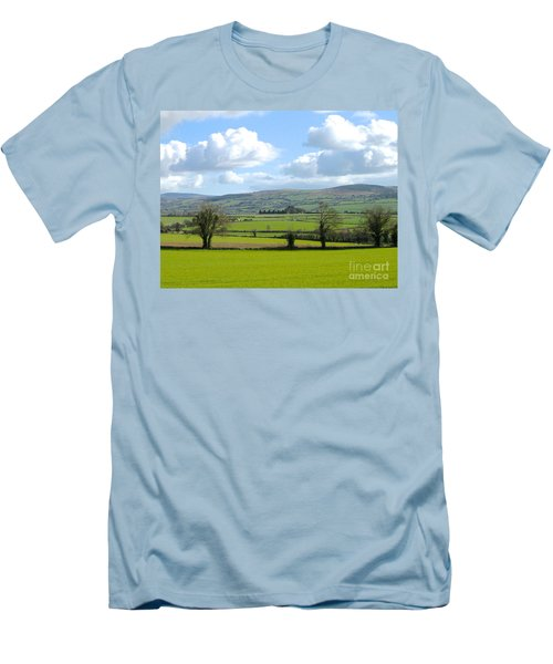 Men's T-Shirt (Slim Fit) featuring the photograph Irish Spring by Suzanne Oesterling