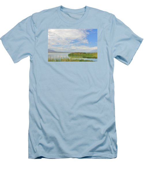 Men's T-Shirt (Slim Fit) featuring the photograph Island Peace by Marilyn Diaz