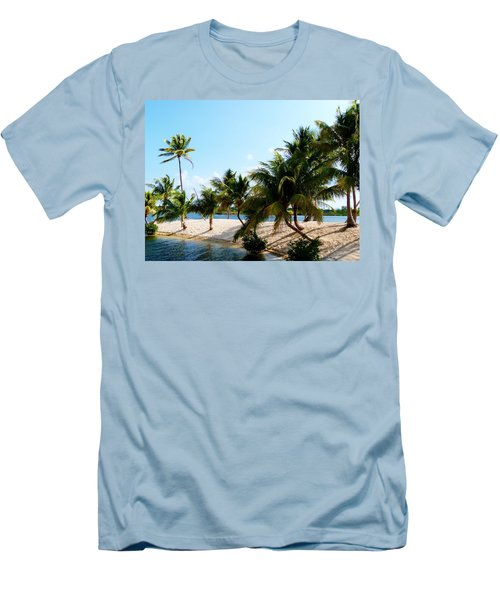 Men's T-Shirt (Slim Fit) featuring the photograph Isle @ Camana Bay by Amar Sheow