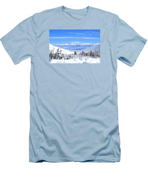 It Snowed Men's T-Shirt (Athletic Fit)