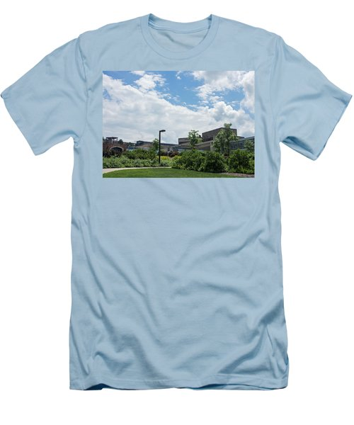 Ithaca College Campus Men's T-Shirt (Athletic Fit)