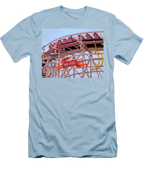 Jack Rabbit Coaster Kennywood Park Men's T-Shirt (Athletic Fit)