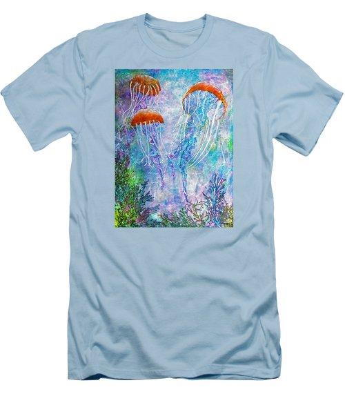 Jellies Men's T-Shirt (Slim Fit) by Janet Immordino