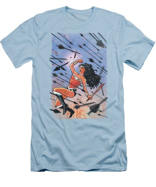 Jla - Wonder Woman #1 Men's T-Shirt (Athletic Fit)