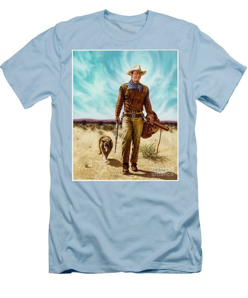 John Wayne Hondo Men's T-Shirt (Athletic Fit)