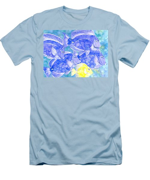 Junior Goes To School Men's T-Shirt (Athletic Fit)
