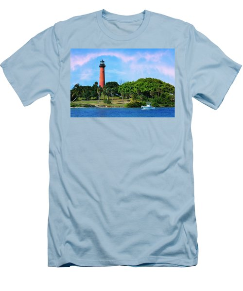 Jupiter Lighthouse Men's T-Shirt (Athletic Fit)