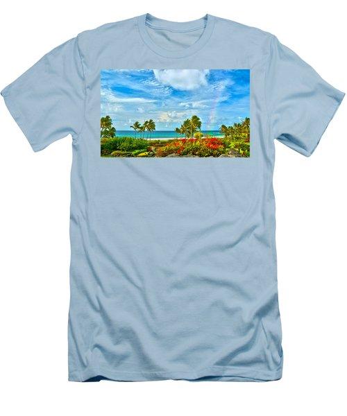 Kauai Bliss Men's T-Shirt (Athletic Fit)