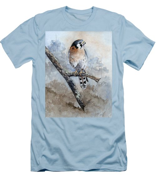 Kestrel Perch Men's T-Shirt (Athletic Fit)