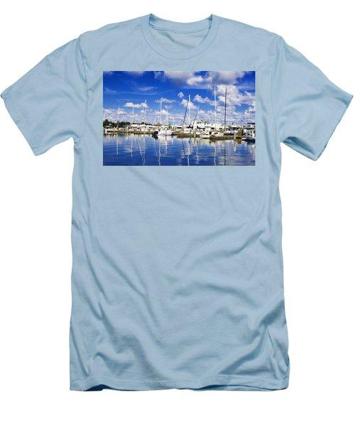 Key West Men's T-Shirt (Slim Fit) by Swank Photography
