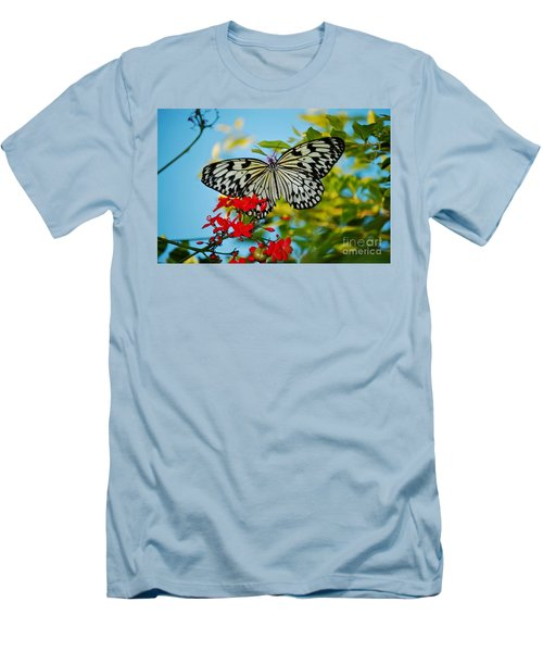 Kite Butterfly Men's T-Shirt (Slim Fit)