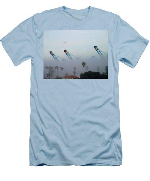 La Harbor Never Sleeps Men's T-Shirt (Athletic Fit)