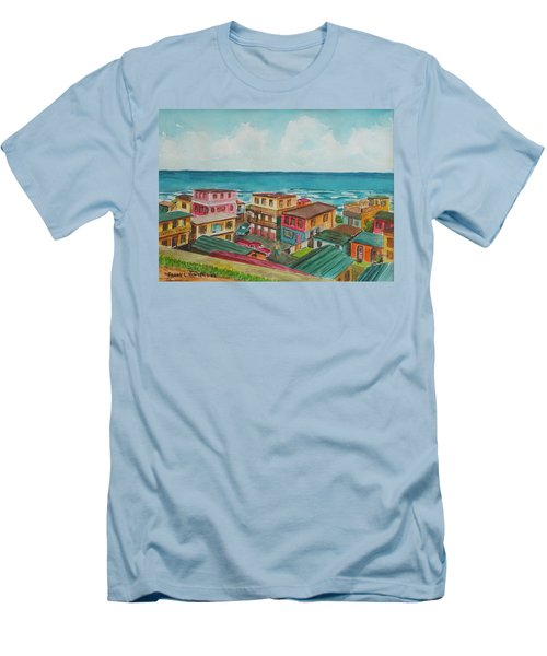 La Perla San Juan Pr Men's T-Shirt (Slim Fit) by Frank Hunter