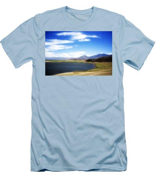 Lake Isabella Men's T-Shirt (Athletic Fit)