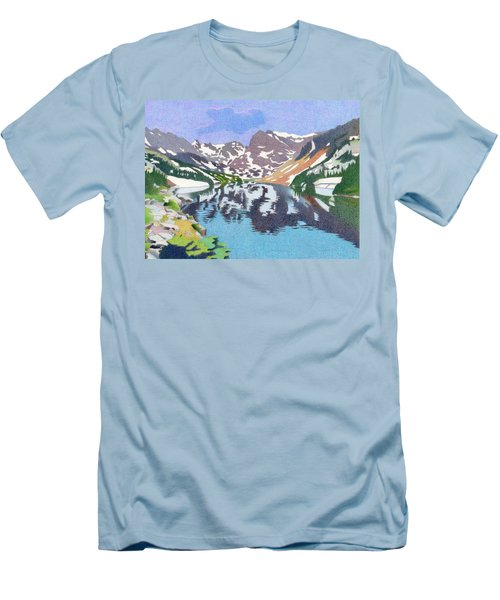 Lake Isabelle Colorado Men's T-Shirt (Slim Fit) by Dan Miller