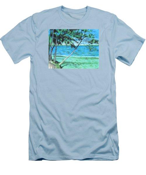 Lakeland 3 Men's T-Shirt (Slim Fit) by Jeanne Fischer