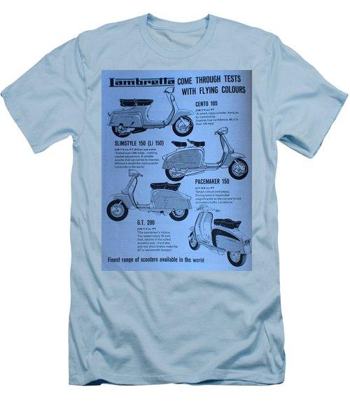 Lambretta Style Men's T-Shirt (Athletic Fit)