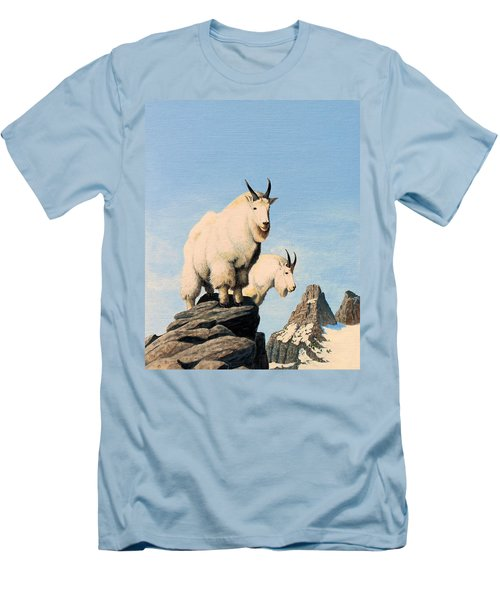 Lamoille Goats Men's T-Shirt (Athletic Fit)