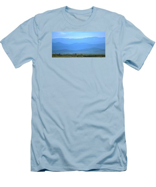 Men's T-Shirt (Slim Fit) featuring the photograph landscape of North CA by Rima Biswas