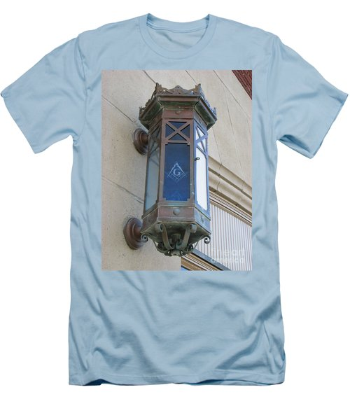 Lantern Of Secrets Men's T-Shirt (Slim Fit) by Michael Krek
