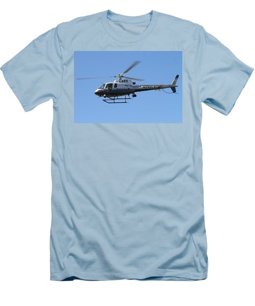 Lapd In Flight Men's T-Shirt (Athletic Fit)