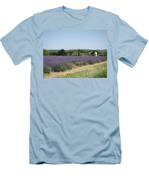 Lavender Farm Men's T-Shirt (Athletic Fit)