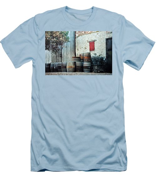Men's T-Shirt (Slim Fit) featuring the photograph Lazy Afternoon At The Winery by Diane Alexander