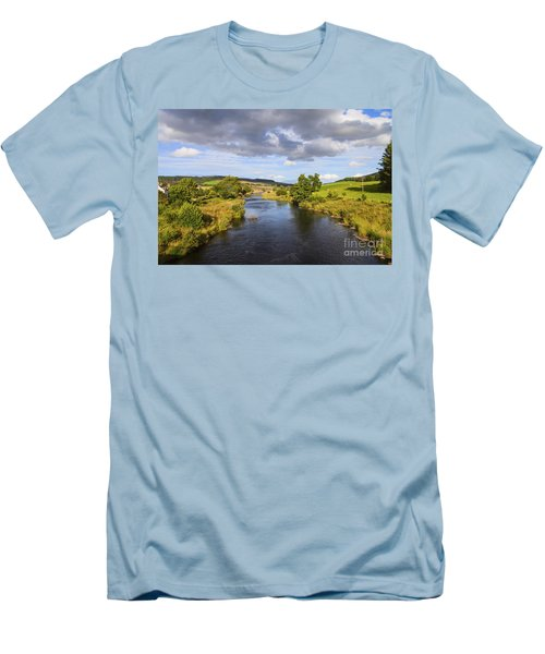 Lazy River Men's T-Shirt (Athletic Fit)