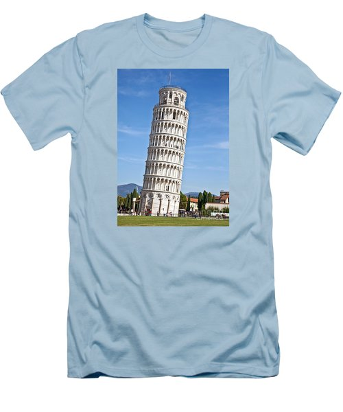 Leaning Tower Of Pisa Men's T-Shirt (Athletic Fit)